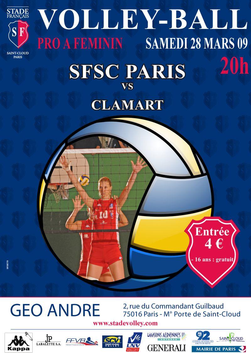 Stade francais st cloud volley - Stade francais porte de saint cloud ...